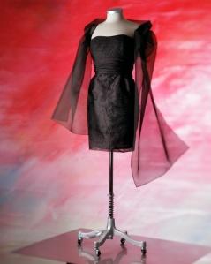 Svart klänning!