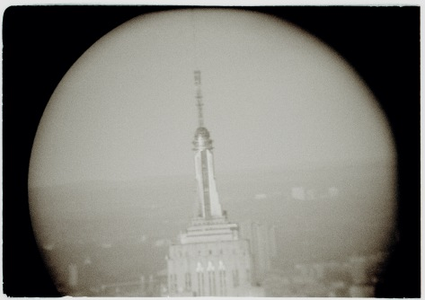 ESB through binucular at WTC