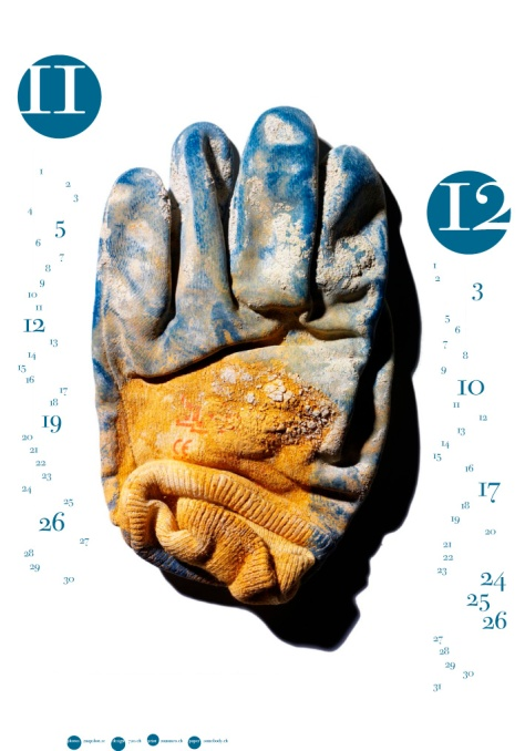 Handske till kalender 2-2